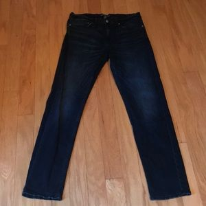 Men's Calvin Klein dark denim jeans